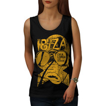 Ibiza Party Live Holiday Tee Music Beats Women Tank Top - $12.99
