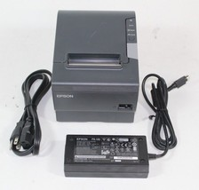 Epson Network Thermal Receipt Printer TM-T88V POS W/ Ethernet & AC adapter - $178.19