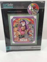 "Artiste Stamped Cross Stitch Kit ""God Remembered Noah"" 1215458 Animals Ark - $18.69"