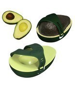 Fresh Food Keeper Storage Tray Holder Avocado Leftover Half Stay Kitchen... - £7.34 GBP