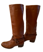 Ralph Lauren Collection Purple Label Equestrian Leather Tall Riding Boots 9.5 image 1