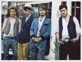 Mumford And Sons (Band) FULLY SIGNED Photo + COA Lifetime Guarantee - $169.99
