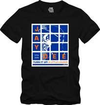 J Dilla Black T-Shirt donuts Shining Graphic Tee Jay Dee SV Hip-Hop producer - $18.99+