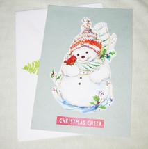 Snowman Christmas or Yule Handmade Card - Handmade Cards - $4.20