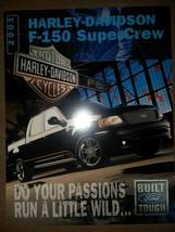2001 Harley-Davidson  F-150 SuperCrew Brochure Card Flyer - $19.79