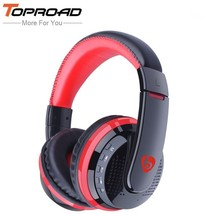 TOPROAD® Wireless Bluetooth Headphones With Microphone HD Diaphragm Auri... - $25.12