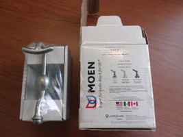 MOEN VALE ROBE HOOK MODEL: DN4403BN BRUSHED NICKEL FINISH. - $11.30