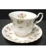 Royal Albert Winsome Cup & Saucer * White Background - $9.49
