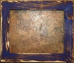 """F001-05 1-1/2"""" Purple Distressed Picture Frame - $26.00+"""