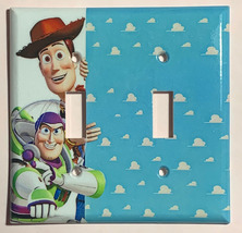 Toy Story Woody Buzz Lightyear Light Switch Power Outlet Wall Cover Plate Decor image 7