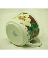 Sweet Magnolia Gibson Designs Flat Coffee Cup Three Maroon Panels White ... - $12.86