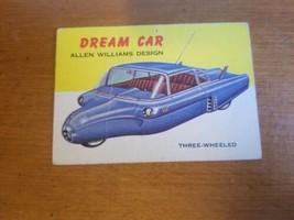 1954 Topps World on Wheels #107 Williams Dream Car - $4.95