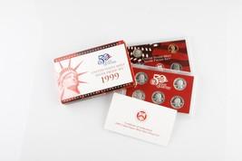 1999 ESTADOS UNIDOS Casa De Moneda Plata Prueba Set con CERTIFICADO AUTE... - $129.19