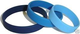 5 CUSTOM SILICONE BANDS WRISTBANDS Bracelets Made Fast Plus Free Rush Sh... - $14.82