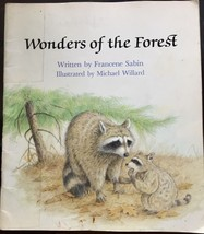 Wonders Of The Forest  PB 1992 Animals - $4.69
