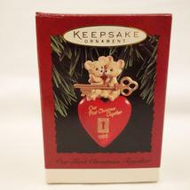 Vintage Hallmark Keepsake Ornament Our First Christmas Together 1995 image 4