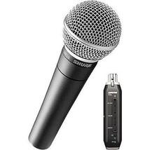 Shure X2u - XLR to USB Microphone Signal Adapter and SM58 Microphone Bundle - $249.90
