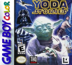 )Star Wars: Yoda Stories (Nintendo Game Boy Color, 1999) - $17.29