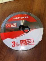 Craftsman CMAS2725243 3-pack saw blades Brand New - $24.73