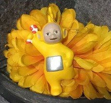 Vintage 1999 Ragdoll Yellow Teletubbies Ornament - $14.85