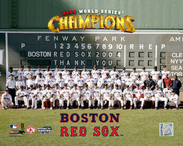2004 World Series Champion Boston Red Sox  8x10 Photo Picture #2112 - $14.95