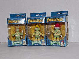 Set Of 3 Fraggle Rock Doozers Figurines Cotterp... - $98.99