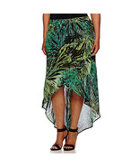 a.n.a Cross-Front Maxi Skirt Plus Size 2X, 3X New Amazon Jungle Msrp $40.00 - $19.99
