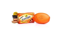 Santoor Sandal and Turmeric Soap, 100 g (pack of 3) - $21.49