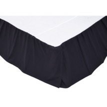 Solid Navy Blue Bed Skirt - Only Few King and Twin Left - Vhc Brands