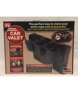 As Seen On TV Car Valet cup holder organizer with cord control brand new... - $7.00