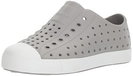 Native Kids Jefferson Junior Water Proof Shoes, Pigeon Grey/Shell White,... - $39.13