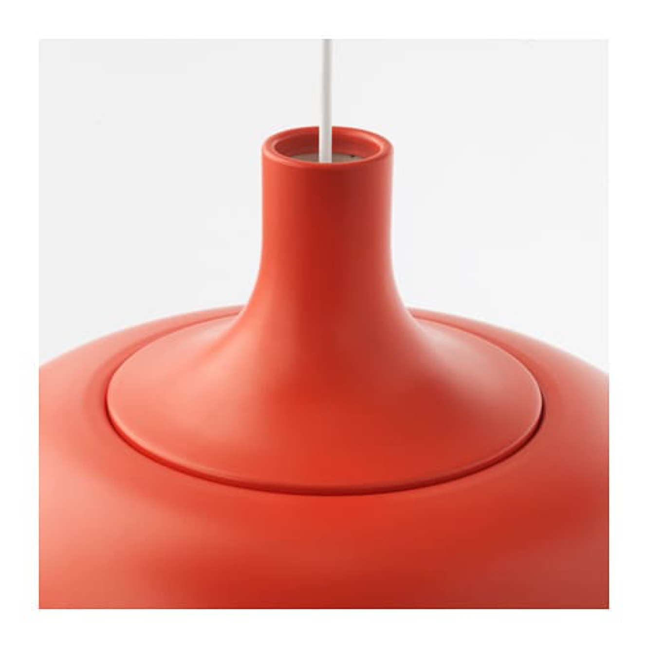IKEA VAXJO Pendant Lamp Orange, Aluminum, 603.942.97 - NEW IN BOX