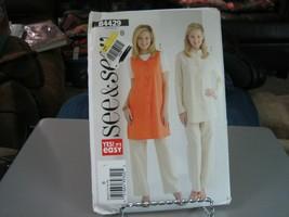 Butterick B4429 Misses Tunic Vest, Tunic Jacket & Pants Pattern - Size 1... - $8.90