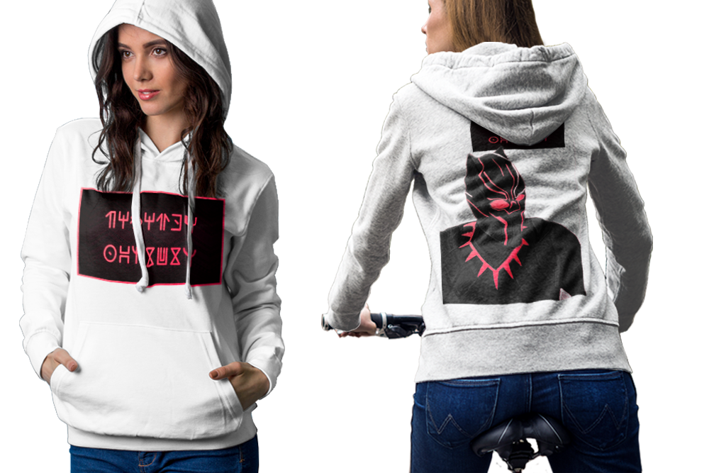 Black panther 2 hoodie classic women