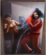 The Last Dragon Leroy vs Shonuff Glossy Art Print 11 x 17 In Hard Plasti... - $24.99