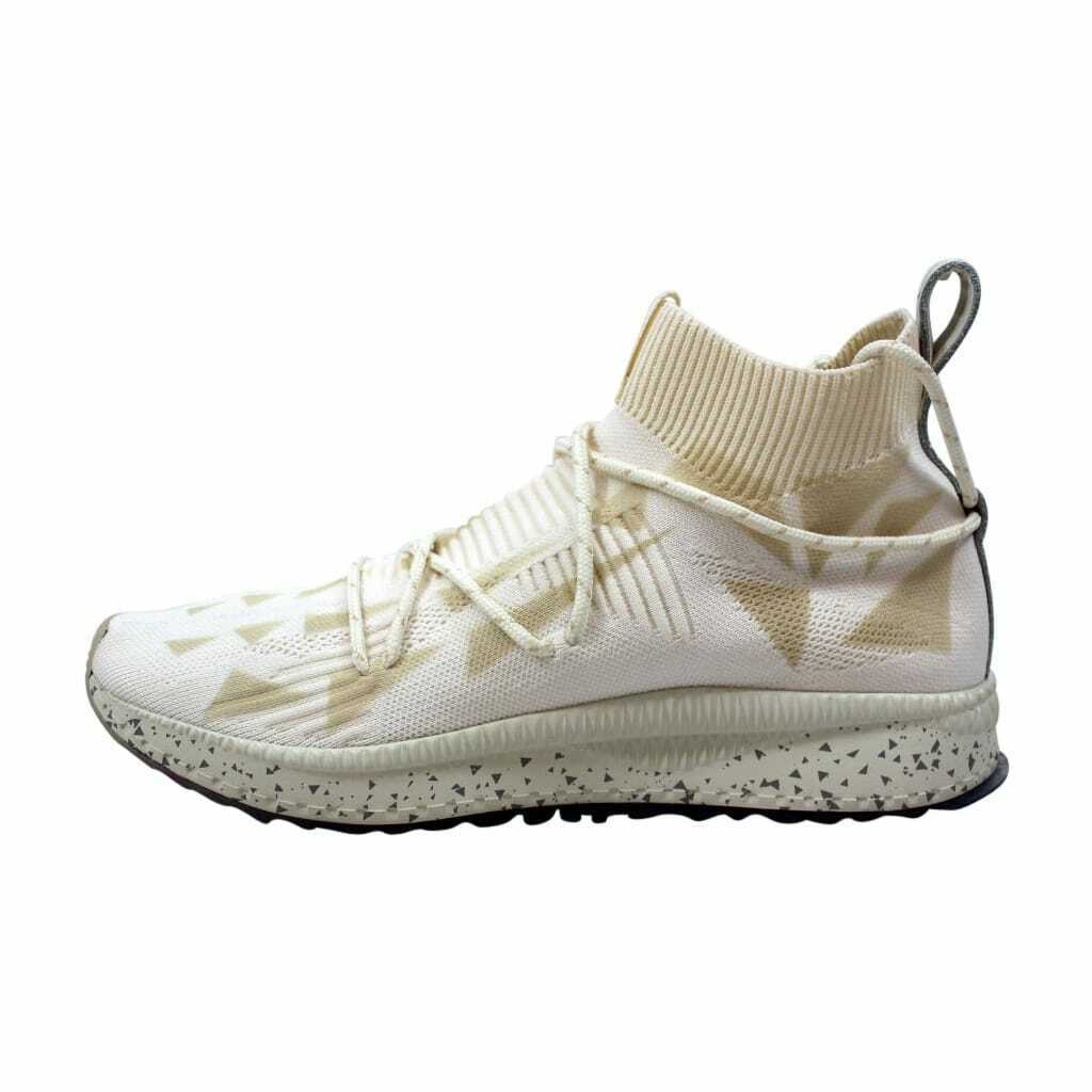Puma Tsugi evoKnit Sock Naturel Whisper White 365678 02 Men's Size 11.5