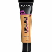 L'oreal Infallible Total Cover 1 oz - 309 Caramel Beige - $7.69