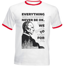 Vladimir Putin Have To Try Quote - Red Ringer Cotton Tshirt - $27.03