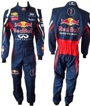 RED BULL Go Kart Race Suit CIK FIA Level 2 Approved with free gift Gloves - $160.99