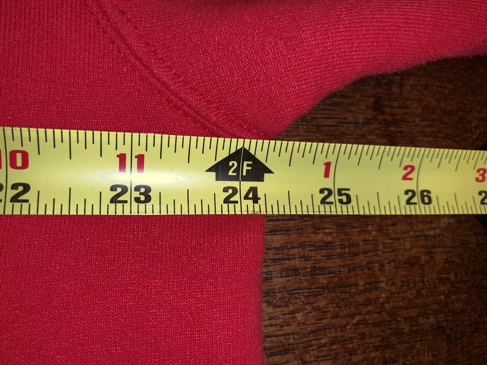 Vintage Tultex Peanuts Snoopy Holiday Xmas Season Sweatshirt Size Large NWOT