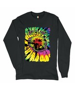 Peace Out Long Sleeve T-shirt Neon Hippie Van Trippy 420 Marijuana Smoking - $15.00+