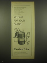 1966 Harrison Line Advertisement - $14.99