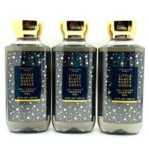 3 Pack Bath & Body Works LITTLE BLACK PARTY DRESS Shower Gel Wash 10 fl.... - $31.30