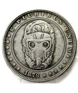 New Hobo Nickel 1879 Starlord Morgan Dollar Guardians of the Galaxy Casted Coin - $11.39