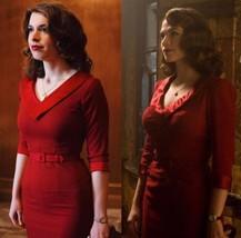 Agent Carter Costume Agent Carter Red Dress  - $89.00