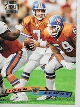 NFL JOHN ELWAY DENVER BRONCOS 1996 TOPPS STADIUM CLUB FOOTBALL #200 GD/VG - $1.25