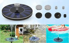 Tranmix Solar Bird Bath Fountain Free Standing image 4