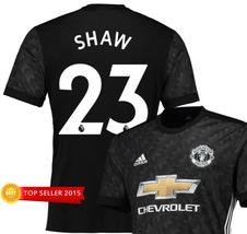 Shaw 23 Manchester United Away Soccer Shirt Jersey 17/18 2017 2018 New - $35.85 - $41.85