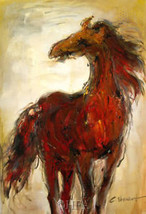 Wild & Free by Christine Stewart Horses Canvas Giclee - $167.31