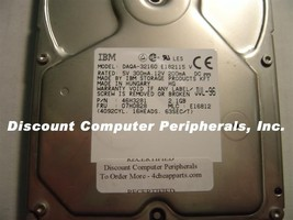 IBM DAQA-32160 2.1GB 3.5IN IDE Drive Tested Good Free USA Shipping - $24.95
